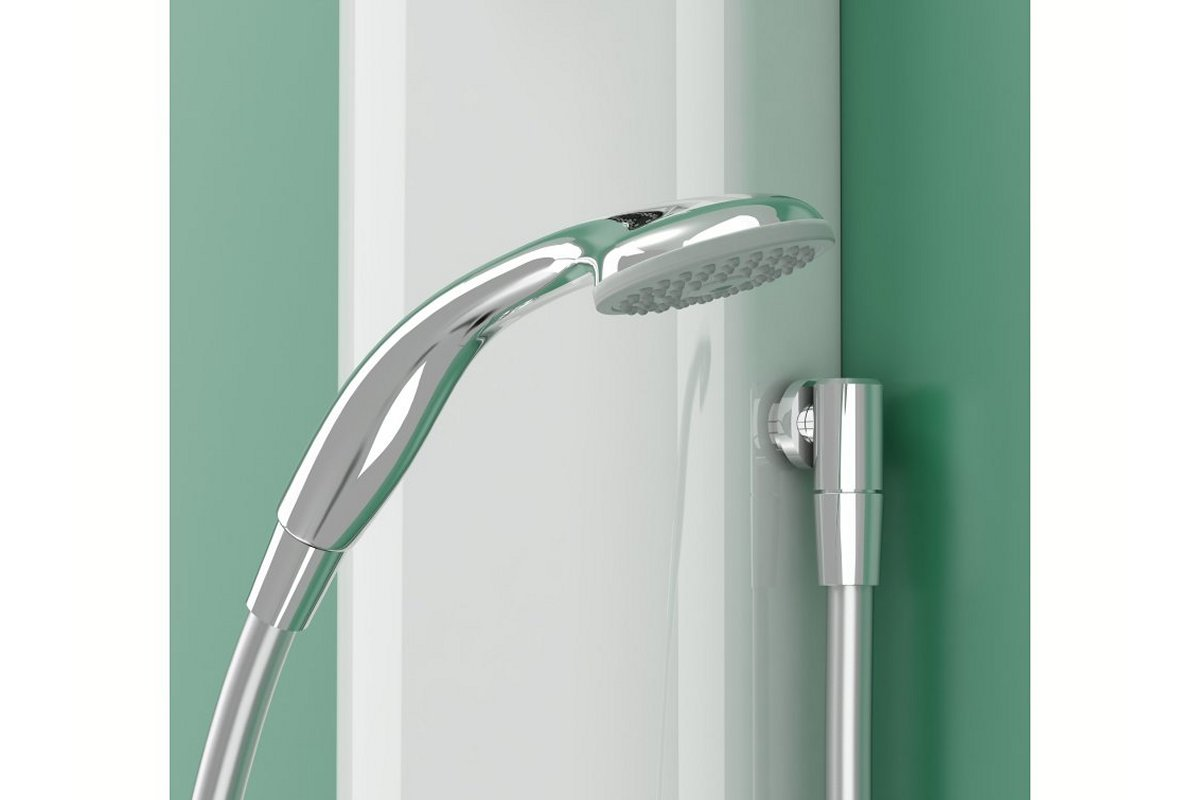 Detachable Hose fitted to T605 shower models