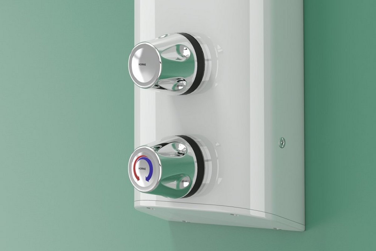 Standard controls for Horne TSV1 shower panels