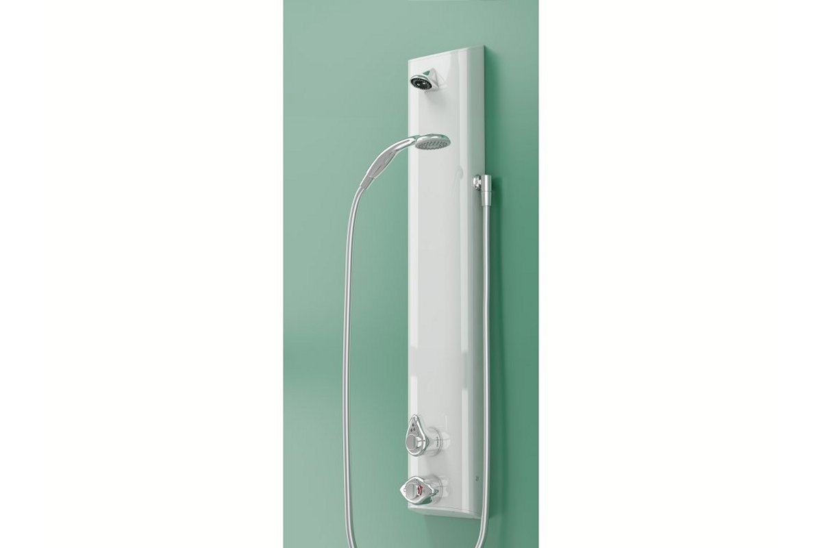 T605B2L shower panel in assisted mode