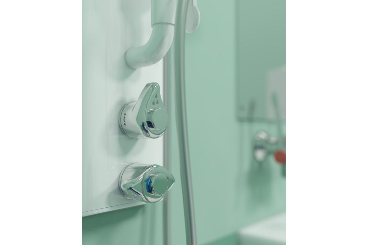 BS 8300 compliant shower control levers