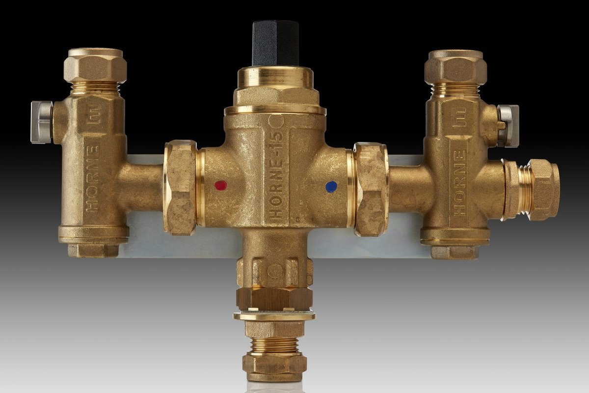Horne H15-25B 4th Connection Thermostatic Mixing Valve