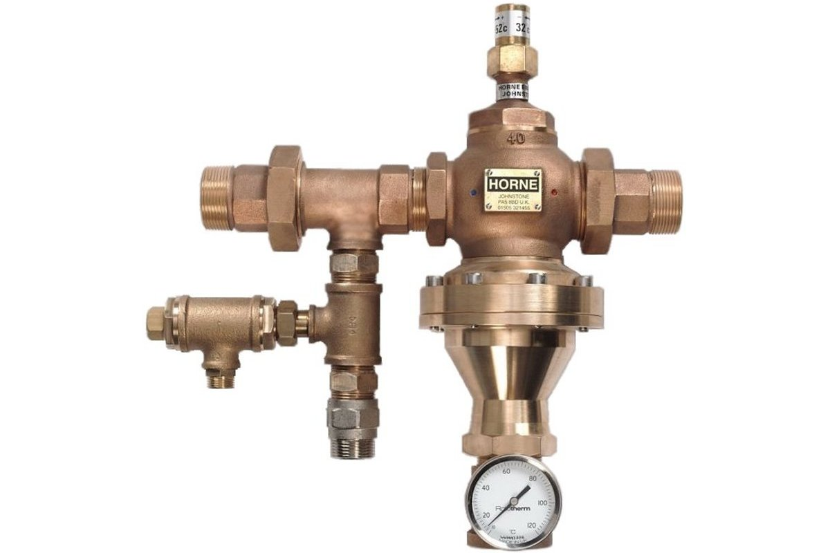 HORNE 40 THERMOSTATIC MIXING VALVE (RECIRCULATING VERSION)