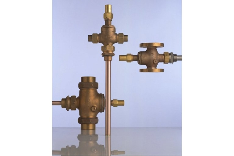 Horne EA1 thermostatic steam control valves